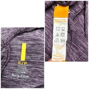 Lucy Dresses - Open back heather purple long sleeve dress